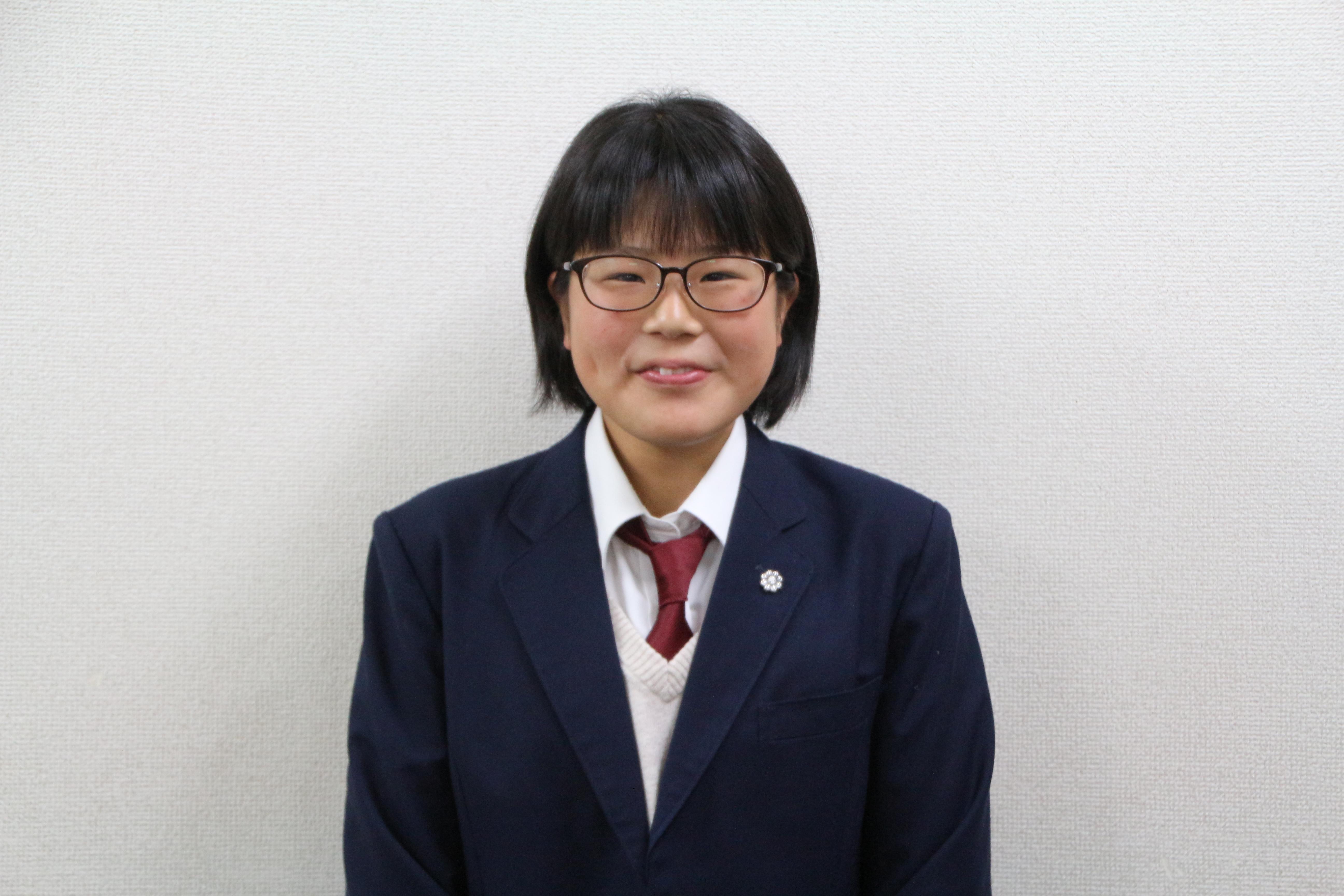 高山 桃香さん(恩方中→国分寺高校)